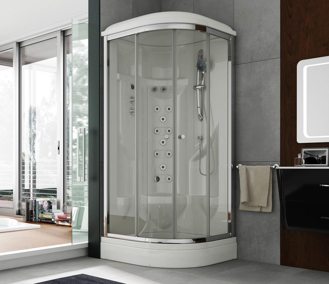 Cabina hidromasaje fontaners tienda de mamparas tienlinday - Cabina de duchas ...